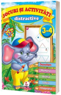 Jocuri si activitati distractive 3-4 ani