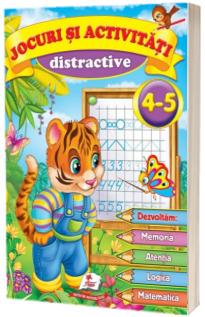 Jocuri si activitati distractive 4-5 ani