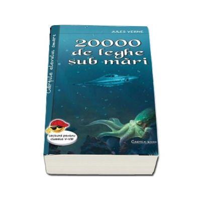 Jules Verne, 20000 de leghe sub mari  (Colectia, Cartile elevului smart)