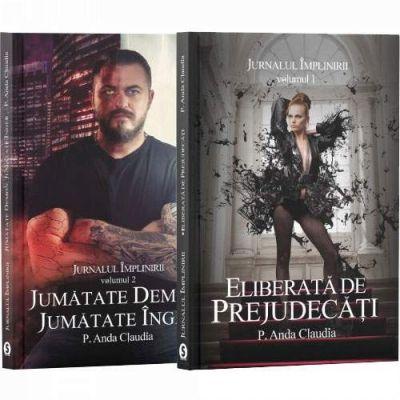 Jurnalul implinirii. Serie de autor P. Anda Claudia. Set 2 carti