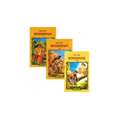 Karl May, Winnetou. Volumele 1, 2, 3
