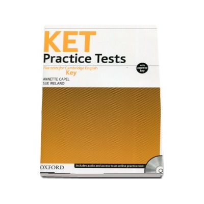 KET Practice Tests. Five tests for Cambridge English Key - With Key and Audio CD Pack