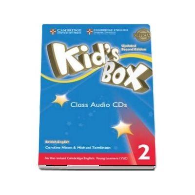 Kids Box Level 2 Class Audio CDs (4) British English