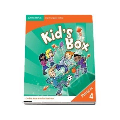 Kids Box Level 4 Posters (8)
