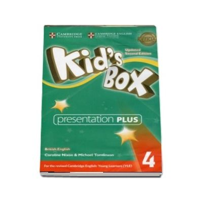 Kids Box Level 4 Presentation Plus DVD-ROM British English