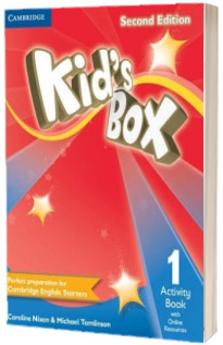 Kids Box Level 1 Activity Book with Online Resources