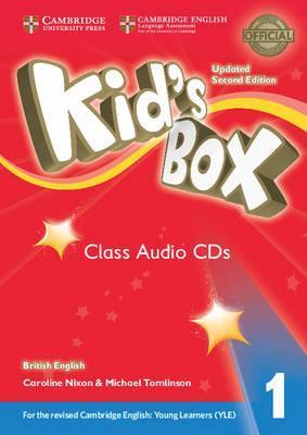 Kids Box Level 1 Class Audio CDs (4)