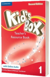 Kids Box Level 1 Teachers Resource Book with Online Audio