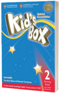Kids Box Level 2 Activity Book with Online Resources