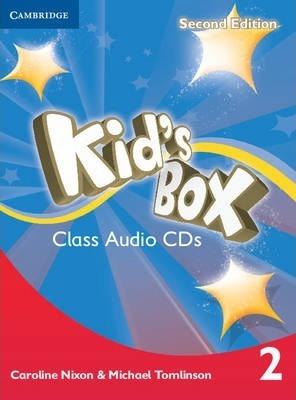 Kids Box Level 2 Class Audio CDs (4)