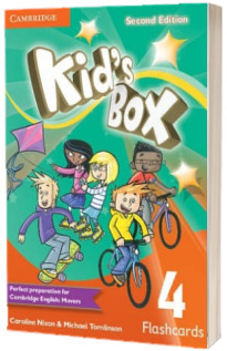 Kids Box Level 4 Flashcards (pack of 103)