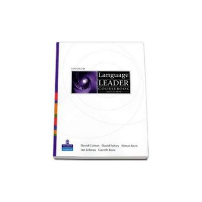 Language Leader Avanced level Coursebook and CD-Rom pack - David Cotton