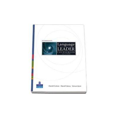 Language Leader Intermediate Coursebook with CD-ROM - David Cotton