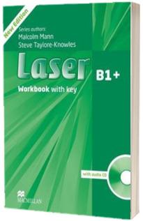 Laser 3rd edition B1 plus. Workbook key & CD Pack