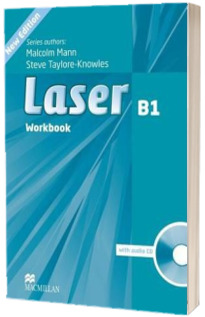 Laser 3rd edition B1 plus. Workbook without key and CD Pack