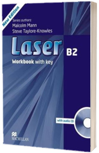Laser 3rd edition B2. Workbook with key and CD Pack