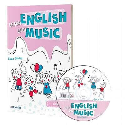 Learn English with music. Caiet de lucru pentru clasa a II-a, contine CD