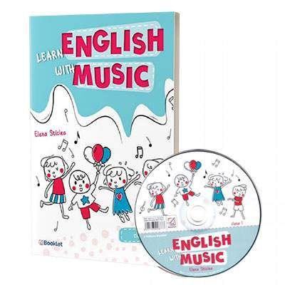 Learn English with music. Caiet de lucru pentru clasa I, contine CD