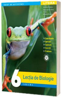 Lectia de biologie, caiet de activitati pentru clasa a VI-a