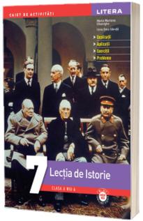 Lectia de istorie, caiet de activitati pentru clasa a VII-a