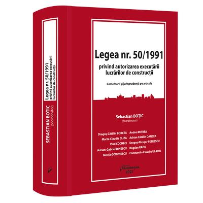 Legea nr. 50/1991 privind autorizarea executarii lucrarilor de constructii