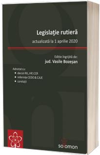 Legislatie rutiera (actualizata la 1 aprilie 2020)