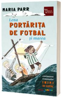 Lena portarita de fotbal si marea