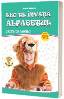 Leo te invata Alfabetul, caiet de lucru pentru clasa pregatitoare
