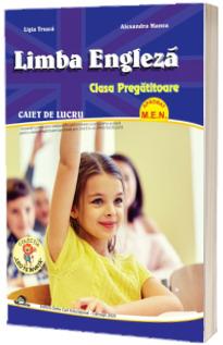 Limba Engleza, caiet de lucru  - Clasa Pregatitoare (Aprobat M.E.N)