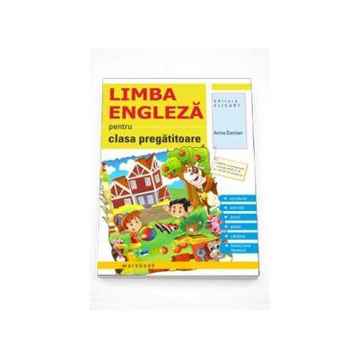 Limba engleza caiet pentru clasa pregatitoare - Vocabular, exercitii, jocuri, poezii, cantece, transcriere fonetica (Adina Damian)