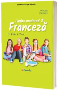 Limba Franceza, limba moderna 2, manual pentru clasa a V-a (Gina Belabed)