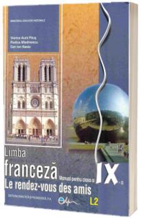 Limba franceza, manual pentru clasa a IX-a L2