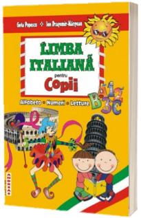 Limba italiana pentru copii. Alfabeto. Numeri. Letture