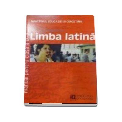 Limba Latina - Manual pentru clasa a IX-a