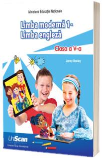 Limba moderna 1, Manual de limba engleza pentru clasa a V-a