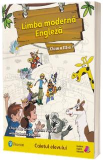 Limba moderna engleza, caietul elevului pentru clasa a III-a