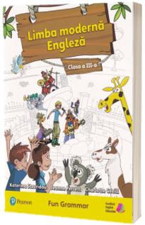 Limba moderna engleza, fun grammar pentru clasa a III-a