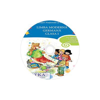 Limba moderna Germana, CD AUDIO pentru Clasa a I, partea I si partea a II-a