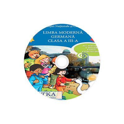 Limba moderna Germana, CD AUDIO pentru Clasa a II-a, partea I si partea a II-a