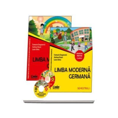 Limba moderna germana manual pentru clasa I, semestrul I si semestrul al II-lea (Contine editia digitala) - Evemarie Draganovici