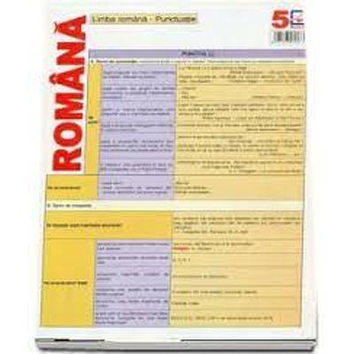 Limba romana. Punctuatie