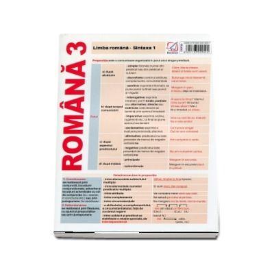Limba romana. Sintaxa 1