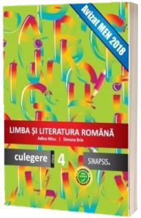 Limba si literatura romana - Culegere Clasa a 4-a