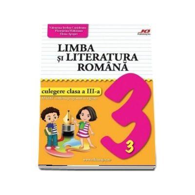 Limba si literatura romana, culegere clasa a III-a