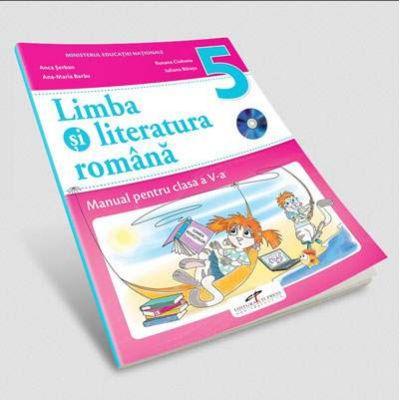 Limba si literatura romana, manual pentru clasa a V-a - Anca Serban (Contine editia digitala)