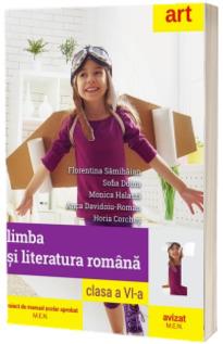 Limba si literatura romana, manual pentru clasa a VI-a. (Florentina Samihaian, Sofia Dobra)