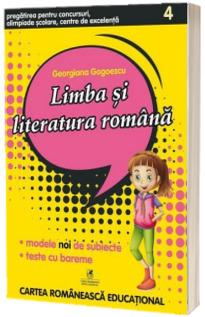 Limba si literatura romana pentru clasa a IV-a