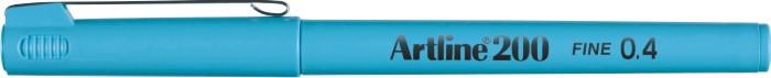 Liner ARTLINE 200, varf fetru 0.4mm - albastru pastel