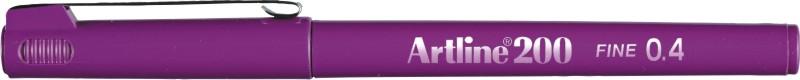 Liner Artline 200, varf fetru 0.4mm - magenta