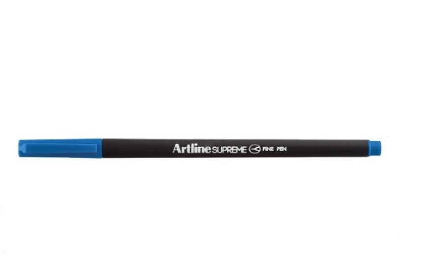 Liner ARTLINE Supreme, varf fetru 0.4mm - albastru